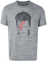 John Varvatos David Bowie print T-shirt - men - Cotton/Polyester - S