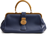 Burberry Trench bi-colour textured-leather bowling bag