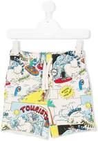 Stella McCartney Taylor printed shorts