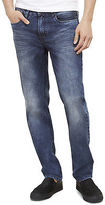 Kenneth Cole Straight-Fit Stretch Blasted Jean