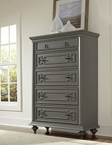 Homelegance Contemporary Grey Hand Rub-Through Distressed Bedroom Furniture - Marceline (Chest)