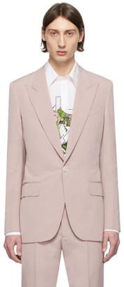 Givenchy Pink Wool Blazer