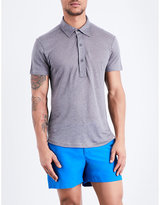 Orlebar Brown Branigan Linen Polo Shirt
