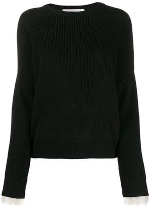 Philosophy di Lorenzo Serafini long-sleeve knitted sweater