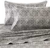 Wamsutta Mills 400 Thread Count Medallion Printed King Sheet Set in Grey