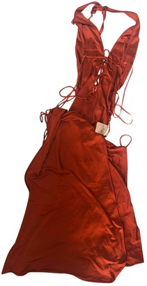 Agent Provocateur Orange Synthetic Dresses