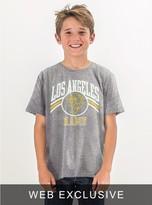 Junk Food Clothing Kids Boys Nfl La Rams Tee-steel-l