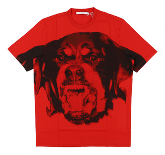Givenchy Red Cotton Tops