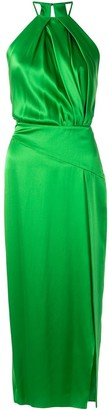 Mason by Michelle Mason Sleeveless Halterneck Dress