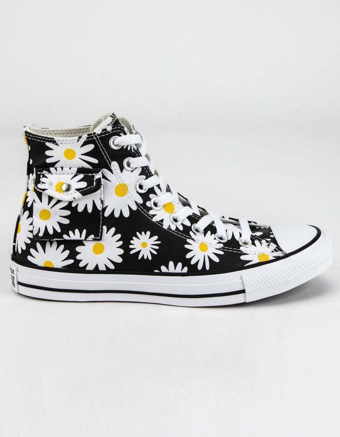 converse all star sunflower