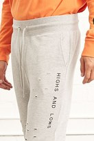 Forever 21 FOREVER 21+ Highs Lows Graphic Sweatpants
