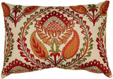 JCPenney Embroidered Center Floral Decorative Pillow
