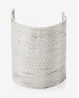 Express wide sleek chain bracelet