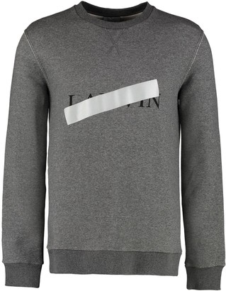 Lanvin Cotton Crew-neck Sweatshirt