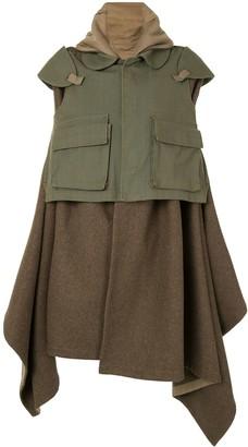 Comme Des Garçons Pre-Owned Military Blanket Coat