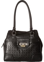 Rosetti Show Time Embossed Double Handle Purse