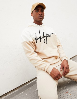ASOS Dark Future oversized hoodie with embroidered logo