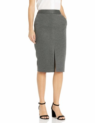 Tommy Hilfiger Women's Front Slit Knit Pencil Skirt with Stretch