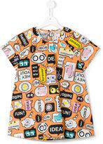 Fendi Teen monster print T-shirt - kids - Cotton - 14 yrs