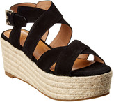 Joie Gaelyn Suede Wedge Sandal