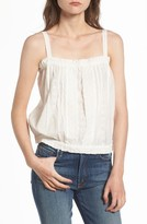 Current/Elliott Women's The Lace Cotton Tank