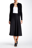 Theory Uthema Wool Blend A-Line Skirt