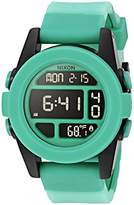 Nixon Men's A1972234-00 Unit Digital Display Japanese Automatic Green Watch