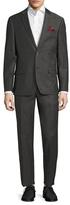Ben Sherman Wool Birdseye Notch Lapel Suit