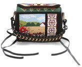 Alexander McQueen Box Bag Multicolor Leather Satchel 19