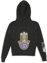 Butter Shoes Girls' Hamsa Embellished Hoodie - Sizes S-XL
