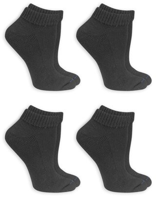 Dr. Scholl's Women's Diabetes and Circulatory Low Cut Socks 4 Pair
