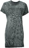 Diesel leopard print T-shirt - women - Viscose - XS