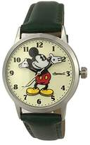 Ingersoll Unisex IND 26163 Disney Classic Time Mickey Mouse Watch with Black Band