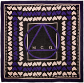 McQ by Alexander McQueen Black Hearts Scarf
