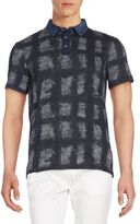 Calvin Klein Jeans Printed Cotton Polo