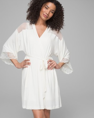 Soma Intimates Lace Short Robe