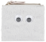 Accessorize Googly Eyes Faux Fur Mini Wallet