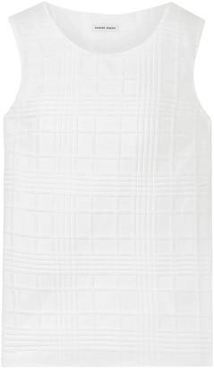 Tomas Maier Textured Cotton-gauze Top