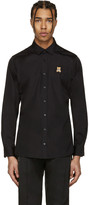 Moschino Black Bear Patch Shirt