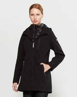 Calvin Klein Softshell Packable Bib Coat