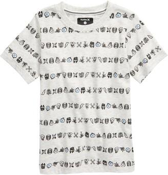 Hurley Creature Stripe Graphic T-Shirt