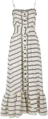 Lisa Marie Fernandez Buttoned maxi dress