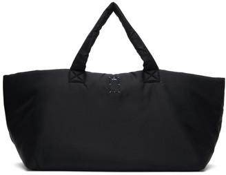 McQ Black Mono Tote Bag