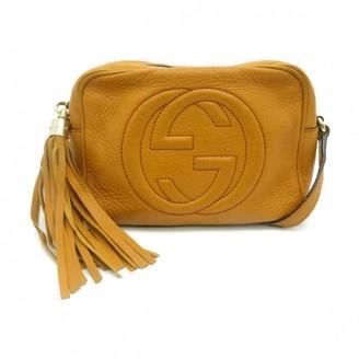 Gucci Soho Yellow Leather Handbags