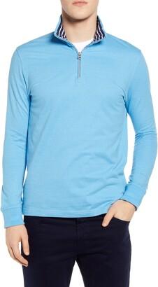 Robert Graham Triple Crown Half Zip Pullover