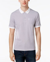 Ben Sherman Men's Dot Print Cotton Polo
