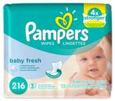 Pampers 216-Count Soft Care Wipes in Baby Fresh