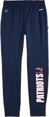 Nike Kids' Dri-FIT Therma NFL Logo New England Patriots Sweatpants