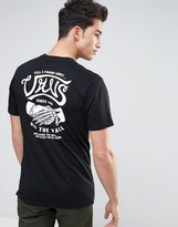 Vans Tell A Friend T-shirt In Black Va3138blk