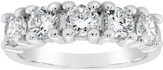 Affinity Diamond Jewelry Affinity 1.45 cttw 5-Stone Diamond Band Ring, 14K